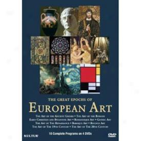 Great Epochs Of Eurpean Art Dvd