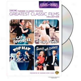 Greatest Classic Films Astaire And Rogers Dvd