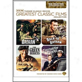 Greatest Classic Films Collection War Battlefront Asia Dvd
