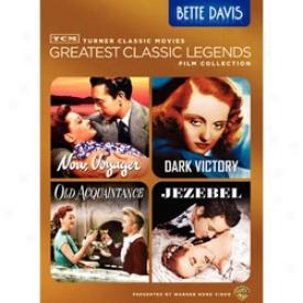 Greatest Classic Legends Collection Bette Davis Dvd