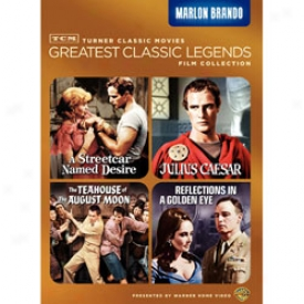 Greatest Classic Legends Film Collection Marlon Brando Dvd
