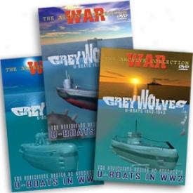 Grey Wolves Uboat War 1939-1945 Dvd