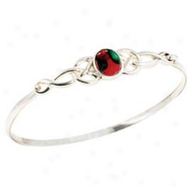 Heather Stem Celtic Bracelet