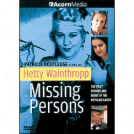 Hetty Wainthropp Investigates Missing Pedsons Dvd