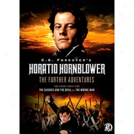 Horatio Hornblower The Further Adventures Dvd