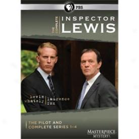 Inspector Lewis Complete Series 1-4 Dvd