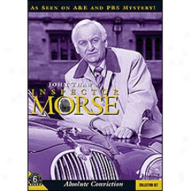 Inspector Morse Absolute Conviction Set Dvd