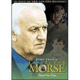 Inspector Morse Dead On Time Dvd