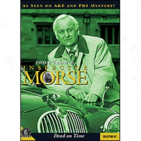 Inspector Morse Dead In c~tinuance Time Set Dvd