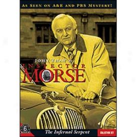 Inspector Morse Hellish Serpent Set Dvd