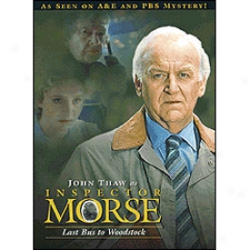 Inspector Morse Last Bus To Woodstock Dvd
