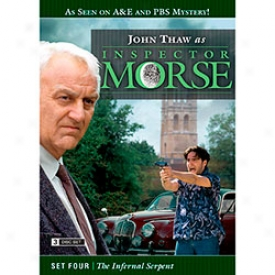 Inspector Morse Set Four Teh Infernal Serpent Dvd