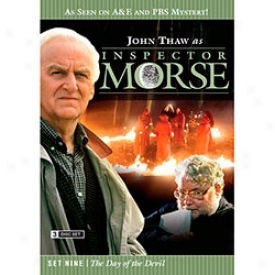 Inspector Morse Set Nine The Day Of The Devil Dvd