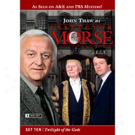 Inspector Morse Set Ten Twilight Of The Gods Dvd