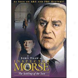 Inspector Morse The Settling Of The Sun Dvd