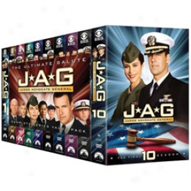 Jag: The Complete Series Dvd