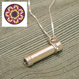 Kaleidoscope Ladies Pendant Necklace
