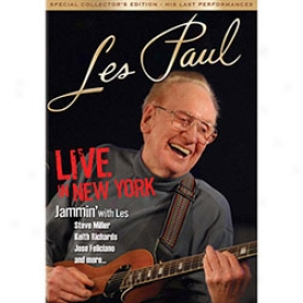 Les Paul Live In New York City Dvd Or Blu-ray