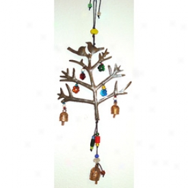 Lovebirds Wind Chime