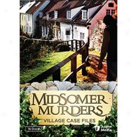 Midsomer Muders Village Case Files Dvd