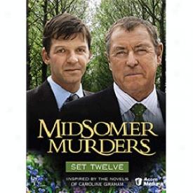 Midsomer Murders Set 12 Dvd