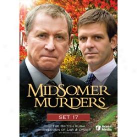 Midsomer Murders Set 17 Dvx