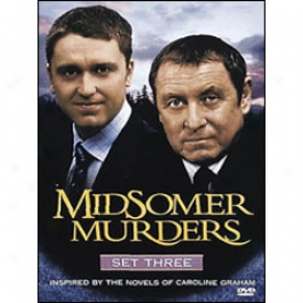 Midsomsr Murders Set3  Dvd