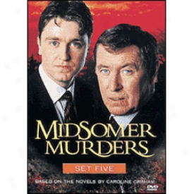 Midsomer Murders Set 5 Dvd