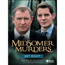 Midsomer Murders Set 8 Dvd