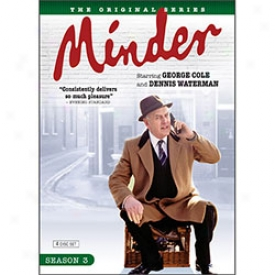 Minder Season 3 Dvd