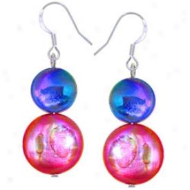Mother-of-pearl Confetti Earrings