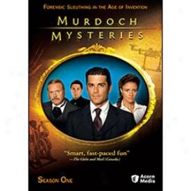 Murdoch Mysteries Season 1 Dvd