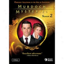 Murdoch Mysteries Season 2 Dvd