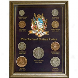 Pre-decimal British Coin Set