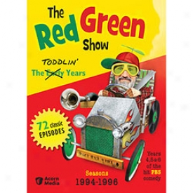 Red Greeb Show The Toddlin' Years Dvd