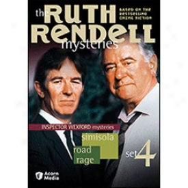 Ruth Rendell Mysteries Set 4 Dvd