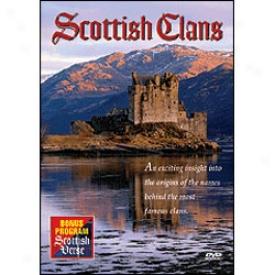 Scottish Clans Dvd