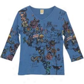 Secret Garden T- Shirt Large-blur