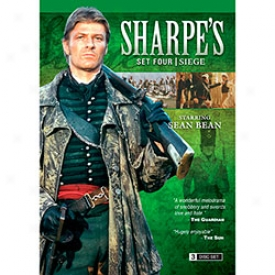 Sharpe's Set Four Siege Dvd