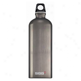 Sigg Classic Water Bottle 1 Litre 1l-smoked Peaarl
