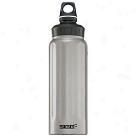 Sigg Wide Mouth Bottles 1.0 Litre 1l-silver