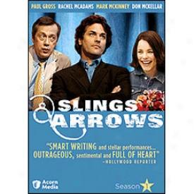 Slings & Arrows Season 1 Dvd