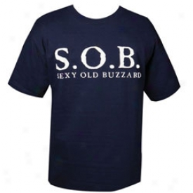 S.o.b T-shirt Mediim-navy
