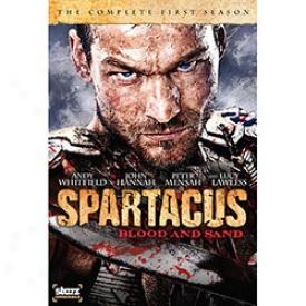 Spartacus Blood & Gravel Dvd