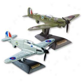 Spitfire & Hurricane Diecwst Model Set