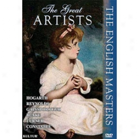 The Great Artits:the English Masters Dvd