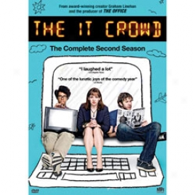 The It Crowd The Complete Second Season Dvd