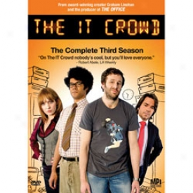 The It Crowd The Fulfil Third Season Dvd