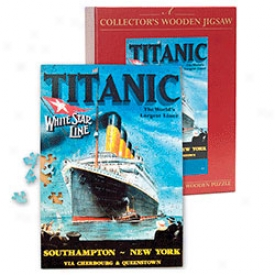 Titanic Wooden Jigsaw Puzzle