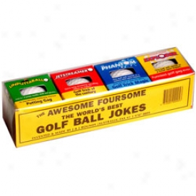 Habit Golf Balls 4 Pack